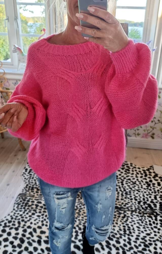 Love Forever Harmony Sweater Pink